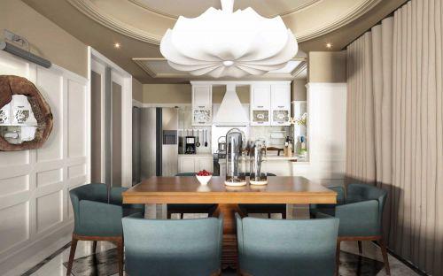 混搭三居室厨房吊顶设计