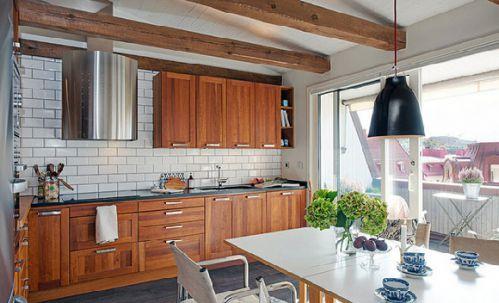 82平迷人公寓厨房装修效果图