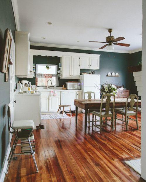 96平米混搭风格两居室厨房吊顶设计