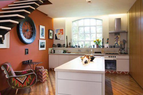 厨房混搭风格设计效果图