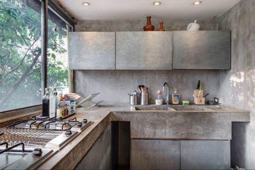 工业混搭厨房装修设计
