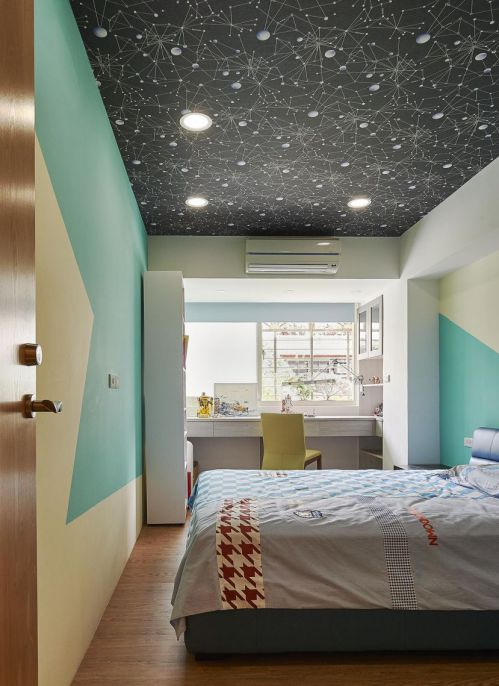 混搭三居室装修儿童房效果图