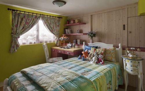 地中海复式儿童房卧室装饰设计