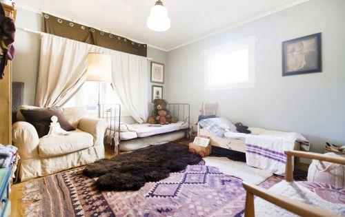 简欧风格别墅儿童房卧室设计