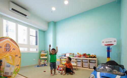 94平低调混搭风格儿童房效果图