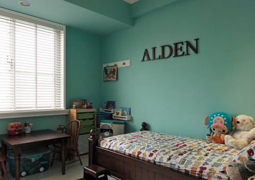 混搭风格四居室设计儿童房图片