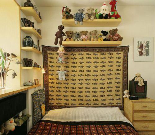 混搭森系装修儿童房图片