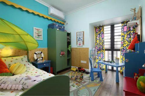 混搭儿童房卧室图片