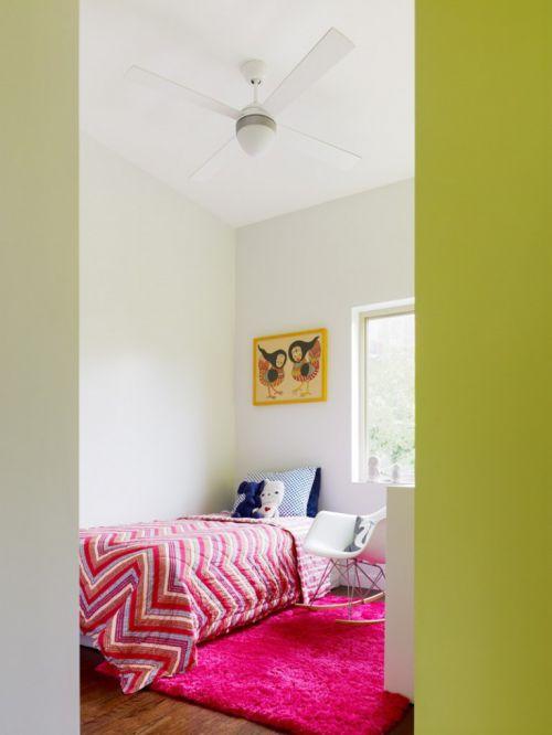 86平米混搭风格复式儿童房装修设计