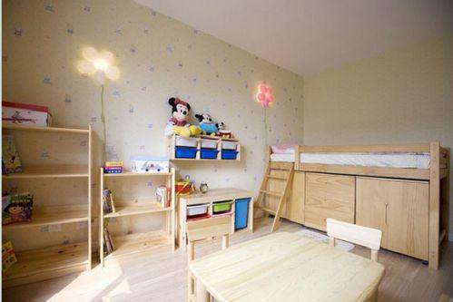 地中海田园混搭儿童房效果图片