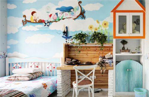地中海风格儿童房装饰效果图