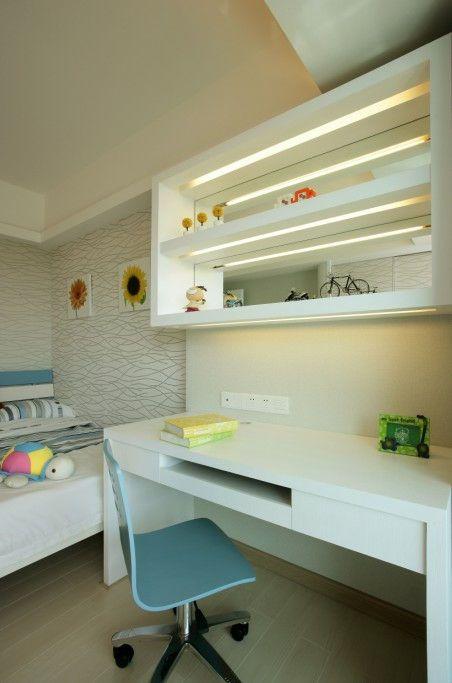118平米现代时尚风格儿童房吊顶设计