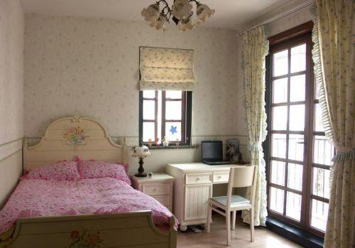 现代古典风格别墅儿童房效果图