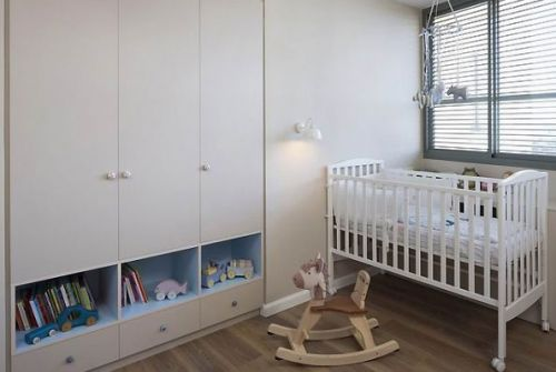 90平清新两居儿童房