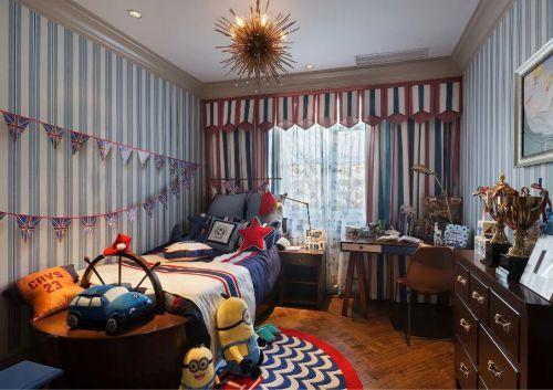 现代美式儿童房装修设计图片