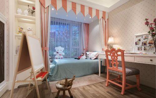 现代美式儿童房图片欣赏