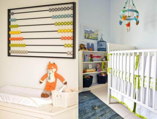 95平米美式风格两居室儿童房背景墙图片