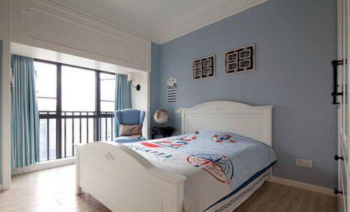 156平美式精品公寓温馨儿童房装修