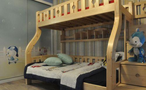 新美式风格家居儿童房效果图