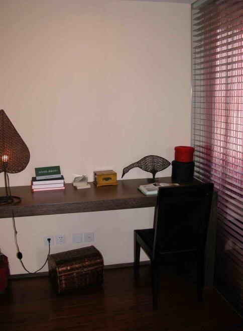 92平东南亚风格小书房装修效果图