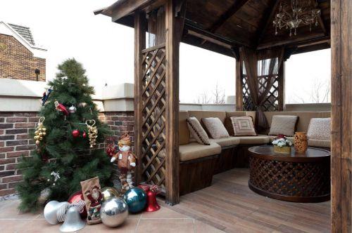 美式风格阳台沙发设计图片