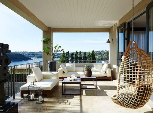 美式风格设计艺术之家开放式阳台图片