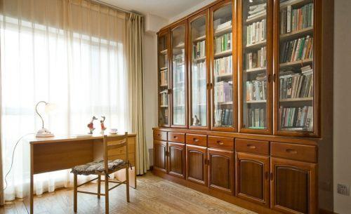 简约欧式风格书房装修设计案例