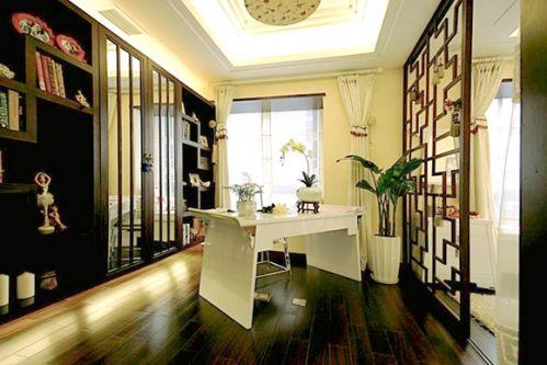 古典中式风格书房设计图片