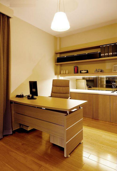 180平米时尚现代风格别墅书房工作区设计