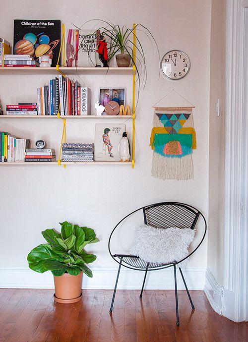 家纺设计师的居家生活书房背景墙效果图