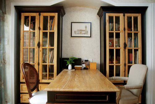 美式乡村家居书房装饰装修