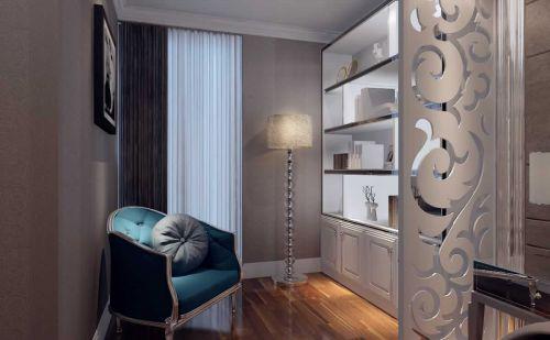 美式风格4平米书房设计