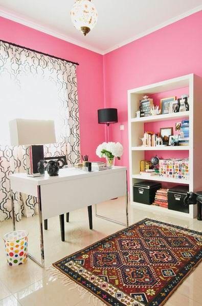 95平米美式风格两居室书房书桌图片