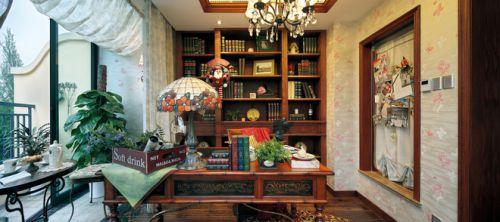 泰禾·北京院子书房装修设计