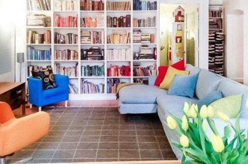 北欧风格精致书房效果图