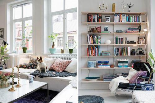 北欧风格公寓书房图片