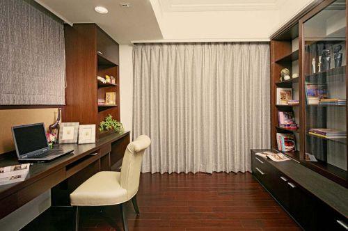 93平米新古典风格别墅书房装修设计图片