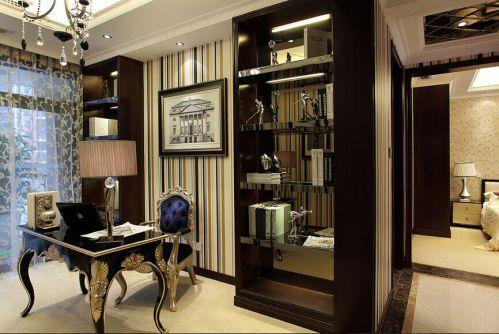 格凌兰2期 书房新古典风格装修