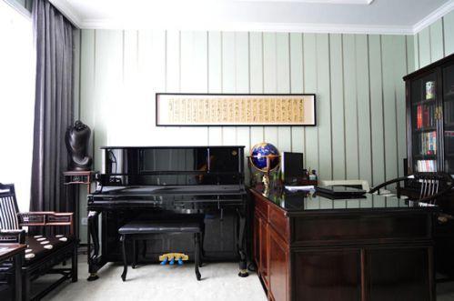 新古典设计风格书房效果图片