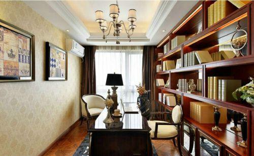 新古典风格书房设计效果图片