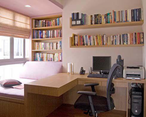 混搭精致公寓书房设计效果图