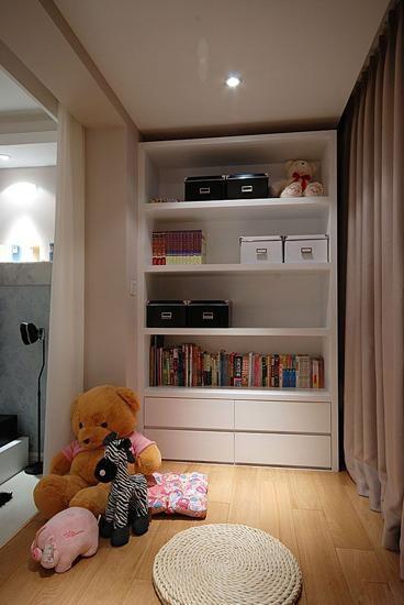 混搭风格书房书柜设计展示