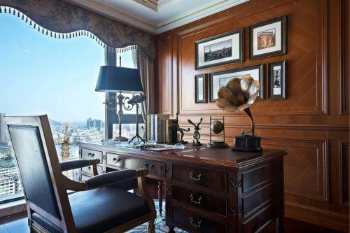 法式家装书房设计效果图照片墙