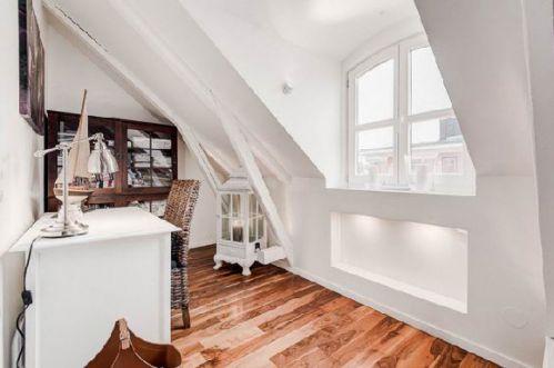 公寓北欧风格书房工作区设计