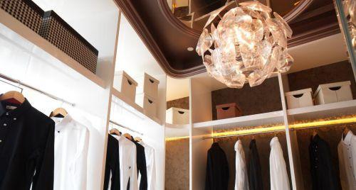 超豪华欧式风格别墅衣帽间设计