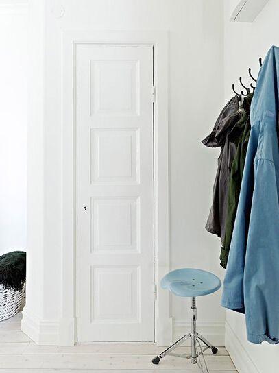 北欧风格清新居室衣帽间装修设计