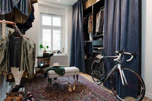 北欧风格公寓衣帽间效果图片