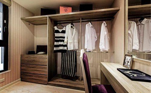 欧式衣帽间步入式衣柜设计