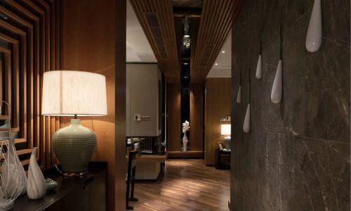 家装客厅过道装修中式效果图