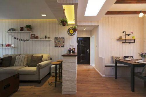 家装玄关客厅沙发效果图设计